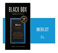 Black Box Merlot Red Wine - 3 Liter