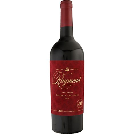 Raymond Wine Reserve Selection Cabernet Sauvignon Napa Valley - 750 Ml