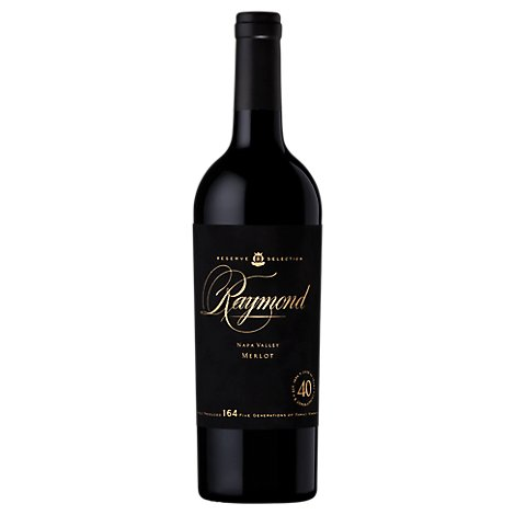 Raymond Reserve Collection Wine Red Merlot Napa Valley - 750 Ml