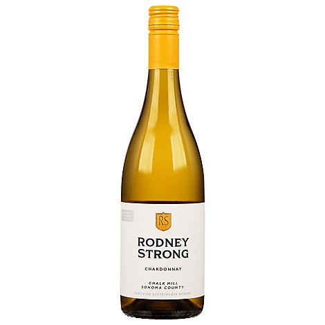 Rodney Strong Vineyards Wine Chardonnay Chalkhill 2017 - 750 Ml