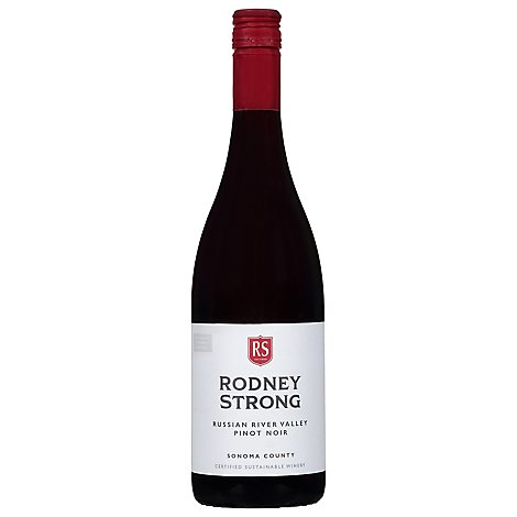 Rodney Strong Estate Vineyards Wine Pinot Noir Russian River Valley Sonoma County - 750 Ml
