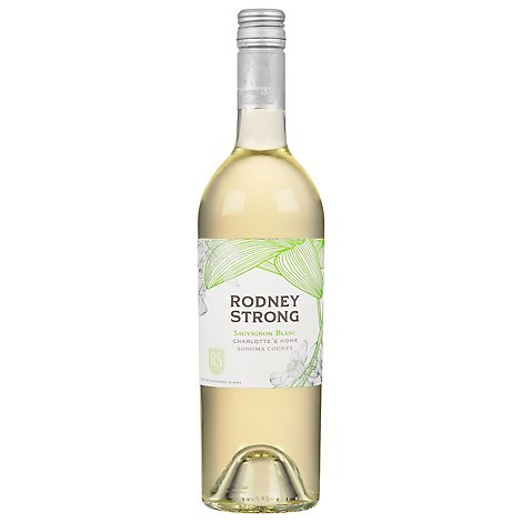 Rodney Strong Estate Vineyards Wine Sauvignon Blanc Charlottes Home Sonoma County - 750 Ml