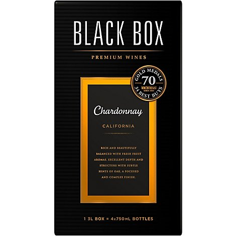 Black Box Chardonnay White Wine - 3 Liter