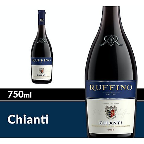 Ruffino Wine Chianti DOCG Italian Red - 750 Ml