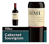 SIMI Wine Red Cabernet Sauvignon Sonoma County - 750 Ml
