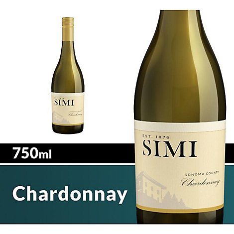 SIMI Wine White Chardonnay - 750 Ml
