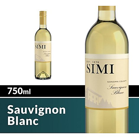SIMI Sonoma County Sauvignon Blanc White Wine - 750 Ml