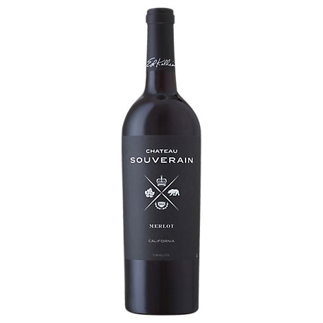 Chateau Souverain Merlot Red Wine - 750 Ml