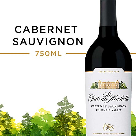 Chateau Ste. Michelle Wine Cabernet Sauvignon Columbia Valley - 750 Ml