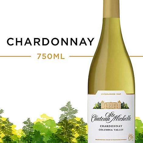 Chateau Ste. Michelle Wine Chardonnay Columbia Valley - 750 Ml