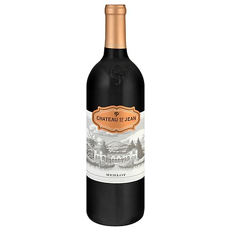 Chateau St Jean Wine California Merlot - 750 Ml