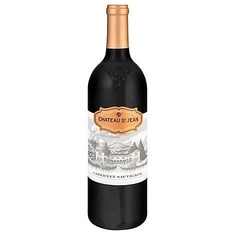 Chateau St. Jean Wine California Cabernet Sauvignon - 750 Ml
