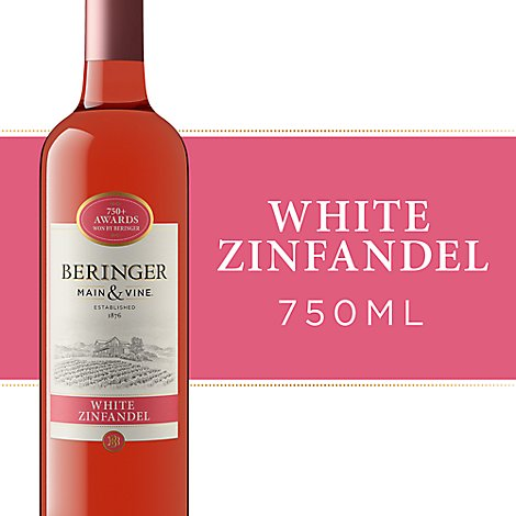 Beringer California Collection Wine White Zinfandel American - 750 Ml
