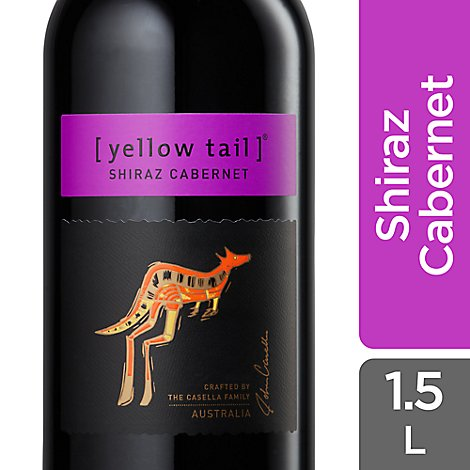 Yellow Tail Shiraz Cabernet Wine - 1.5 Liter