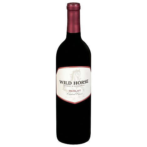 Wild Horse Wine Red Merlot - 750 Ml