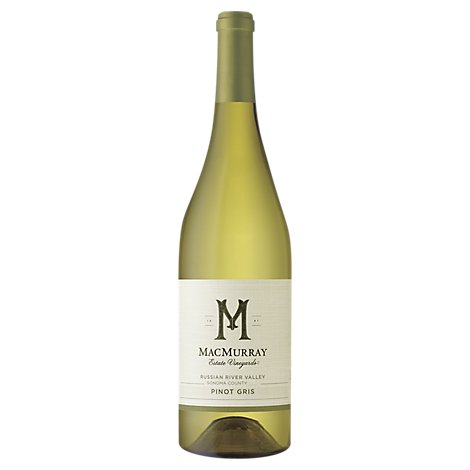 MacMurray Estate Sonoma County Pinot Gris White Wine - 750 Ml