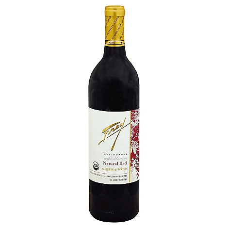 Frey Natural Red Wine - 750 Ml