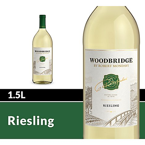 Woodbridge by Robert Mondavi Riesling White Wine - 1.5 Liter