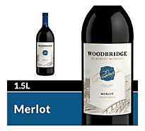 Woodbridge by Robert Mondavi Wine Red Merlot - 1.5 Liter