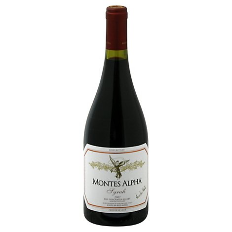 Montes Alpha Syrah Wine - 750 Ml
