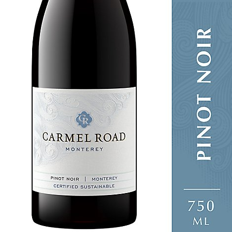 Carmel Road Wine Red Pinot Noir Monterey - 750 Ml