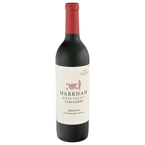 Markham Merlot Wine - 750 Ml
