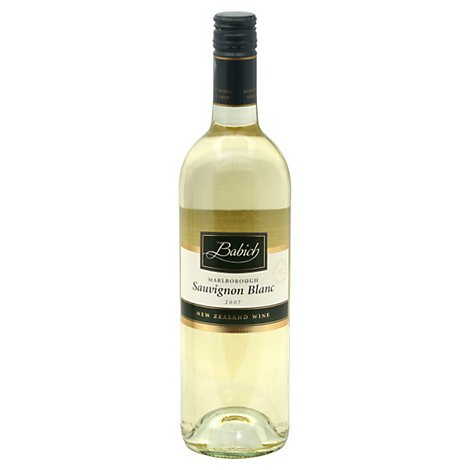 Babich Marlborough Sauvignon Blanc Wine - 750 Ml