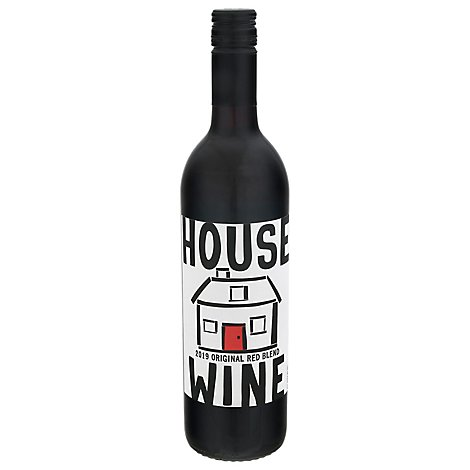 House Wine Wine Red Original Blend - 750 Ml