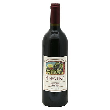 Fenestra Wine Red True Red - 750 Ml