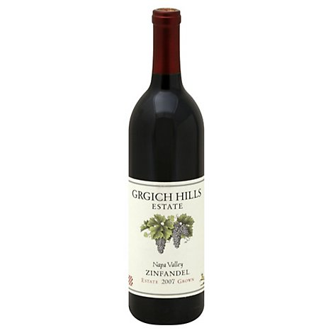 Grgich Hills Napa Valley Zinfandel Wine - 750 Ml