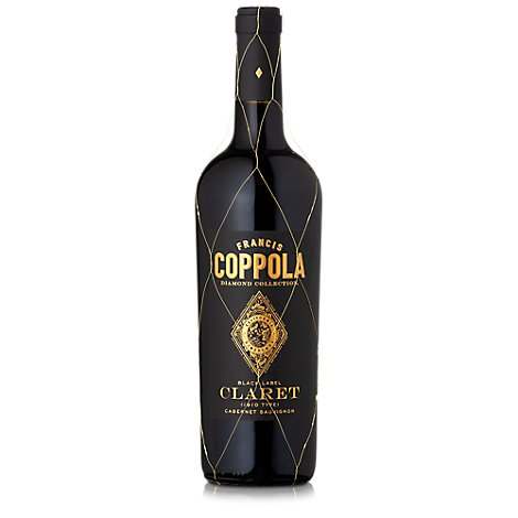 Francis Coppola Diamond Collection Wine Claret Black Label - 750 Ml