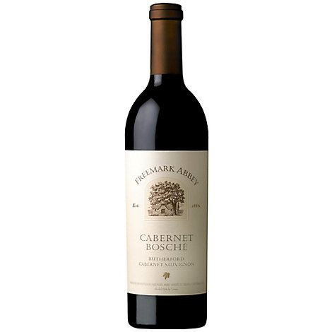 Freemark Abbey Wine Red Bosche Cabernet Sauvignon - 750 Ml