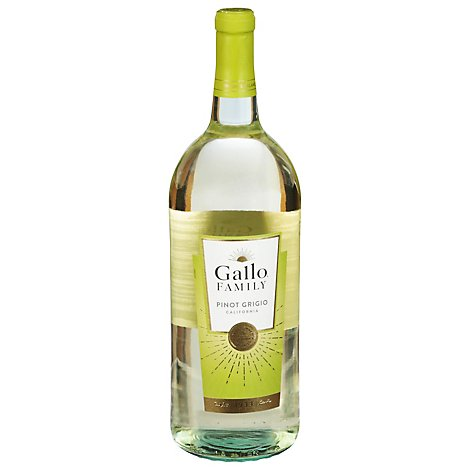 Gallo Family Vineyards Pinot Grigio White Wine - 1.5 Liter