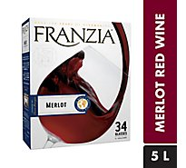 Franzia Wine Red Merlot - 5 Liter