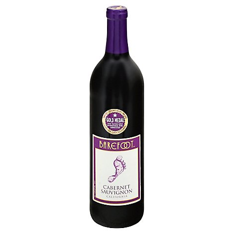 Barefoot Red Wine Cabernet Sauvignon - 750 Ml