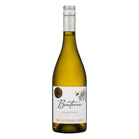 Bonterra Wine Organic Chardonnay California - 750 Ml