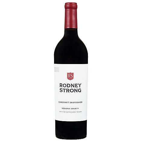 Rodney Strong Vineyards Wine Cabernet Sauvignon Sonoma County 2017 - 750 Ml
