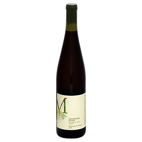 Montinore Late Harvest Riesling Wine - 750 Ml