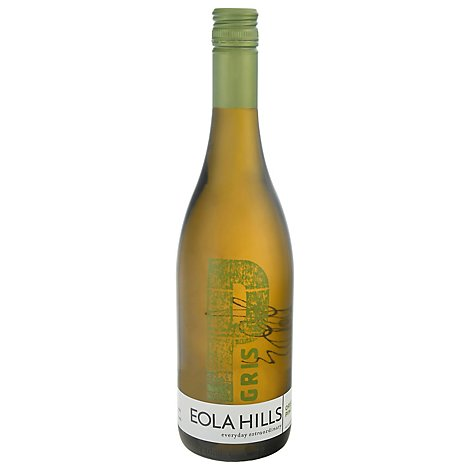 Eola Hills Pinot Gris Wine - 750 Ml