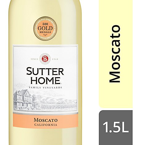 Sutter Home Moscato Wine - 1.5 Liter