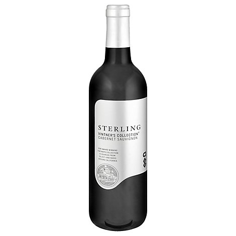 Sterling Vintners Collection Wine Cabernet Sauvignon Central Coast - 750 Ml