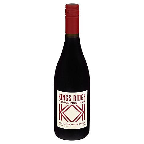 Kings Ridge Pinot Noir Wine - 750 Ml
