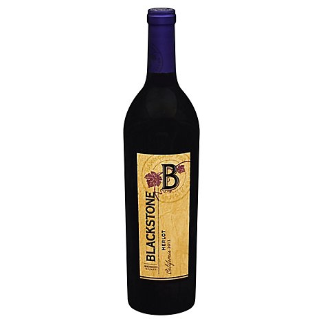 Blackstone Wine Red Merlot - 750 Ml