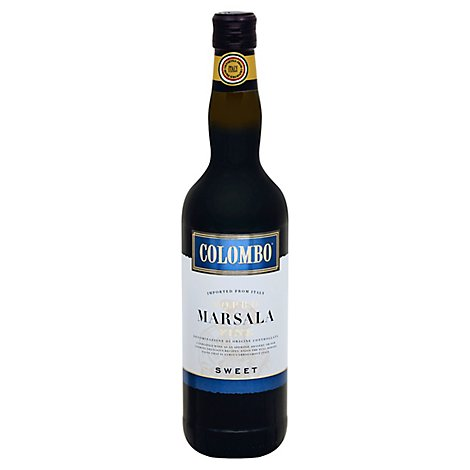 Colombo Sweet Marsala Wine - 750 Ml