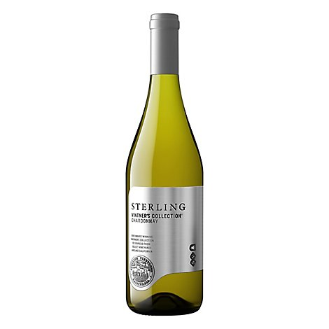 Sterling Vineyards Vintners Collection Wine Chardonnay - 750 Ml