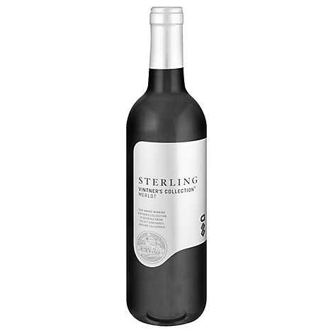 Sterling Vintners Collection Wine Merlot Central Coast - 750 Ml