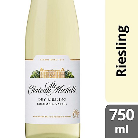 Chateau Ste. Michelle Wine Dry Riesling - 750 Ml