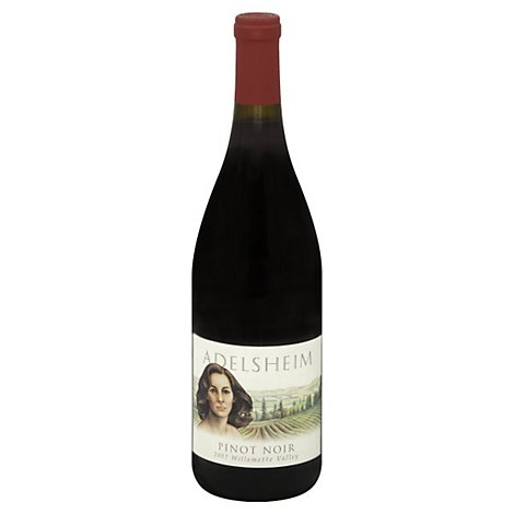Adelsheim Wine Pinot Noir Willamette Valley - 750 Ml
