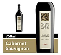 Mount Veeder Napa Valley Cabernet Sauvignon Red Wine - 750 Ml