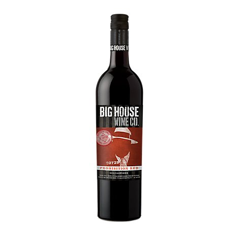 Big House Wine Red Prohibition - 750 Ml